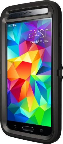 Otterbox Galaxy Case Packaging Protective Case for Galaxy S5 - Black