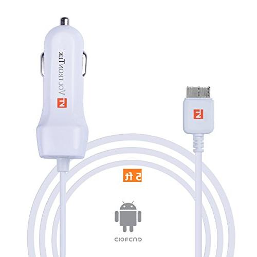 Galaxy S5 VoltronTek Ultra Rapid Extra Length Built-in USB 3.0 Connector Samsung Note 3 Note and for