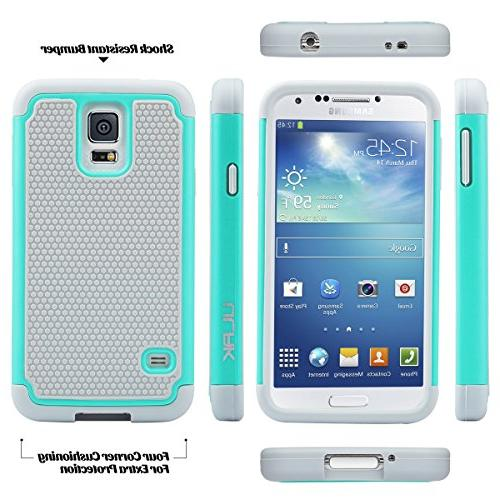 ULAK S5 Phone Case Armor Shockproof Silicone Rugged Rubber PC Cover for Mint