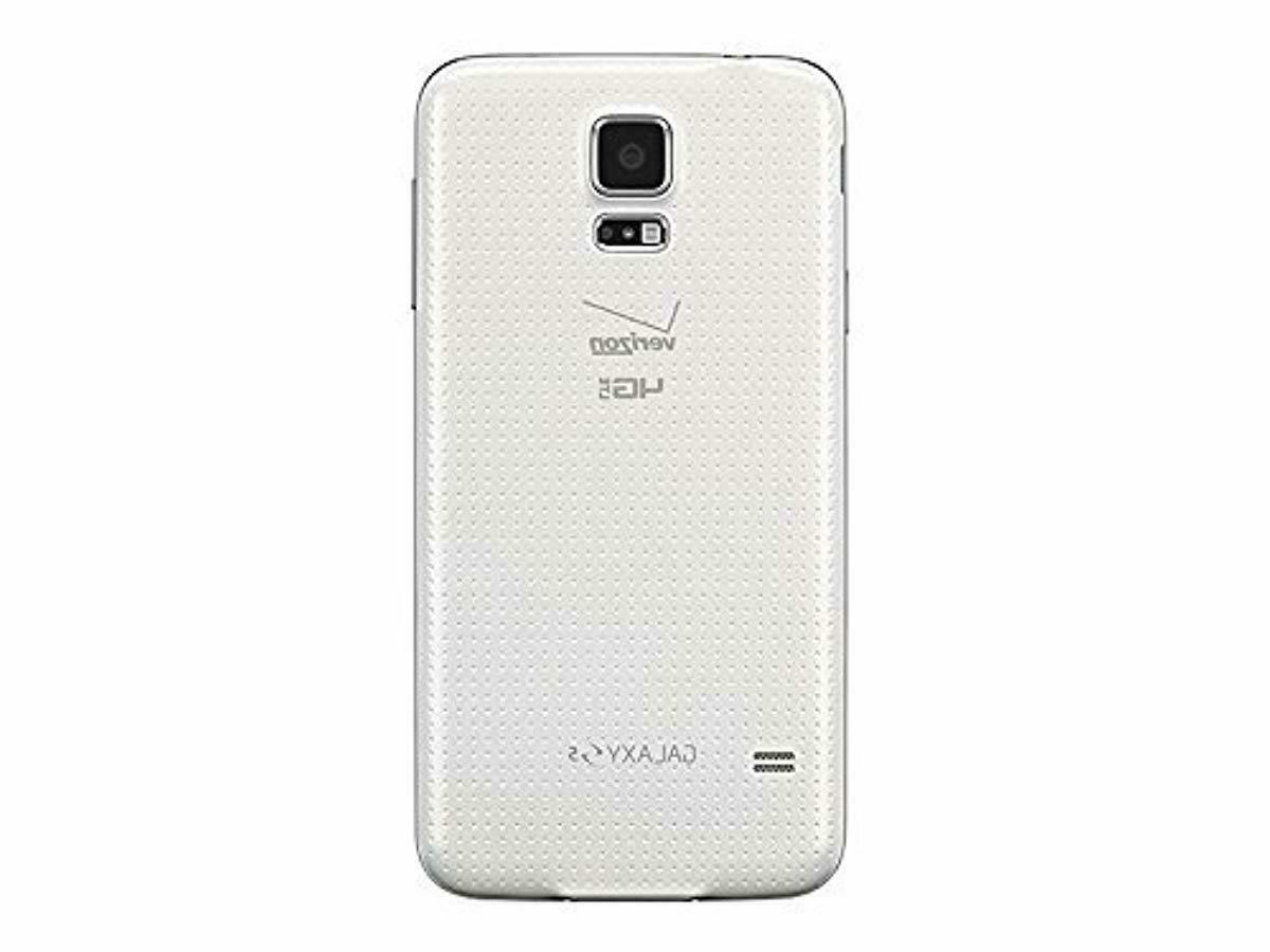 Samsung S5 16GB Wireless CDMA Smartphone - Shimmery White (
