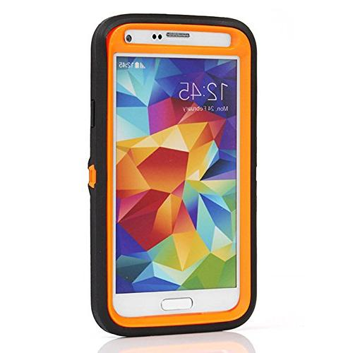 Galaxy Harsel Duty Camo High Impact Tough Rugged Hybrid Rubber Protective Clip Protector Case S5