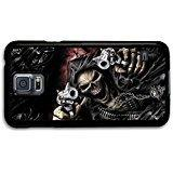 Gothic Metal Badass Skull In A Cool Style Design case for Sa