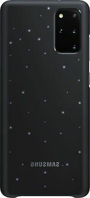 LED Back Cover Case for Samsung Galaxy S20+ 5G - Black