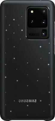 LED Back Cover Case for Samsung Galaxy S20 Ultra 5G - Black