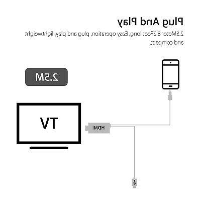 MHL Micro USB HDMI HD Cable Adapter Android Samsung Phone Tablet