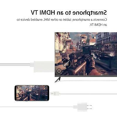 MHL HDMI HD TV Cable Android Samsung