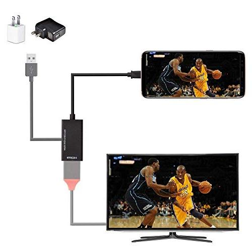 Micro to HDMI Cable MHL HDTV Adapter, 1080P and Function, Samsung Galaxy Note