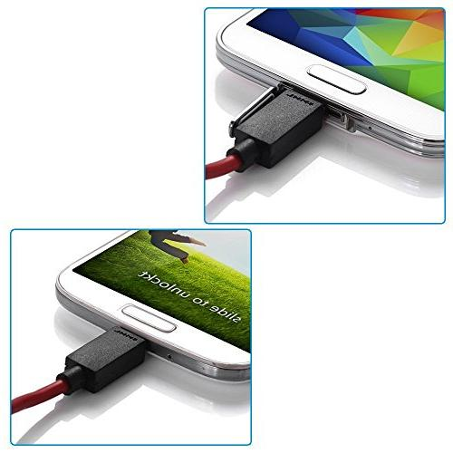 Jmday 1080P 11-pin USB HDMI Cable with Video Audio for Android Samsung S3/S4/S5 Tab 3 T310, Tab 8 N5110, Note