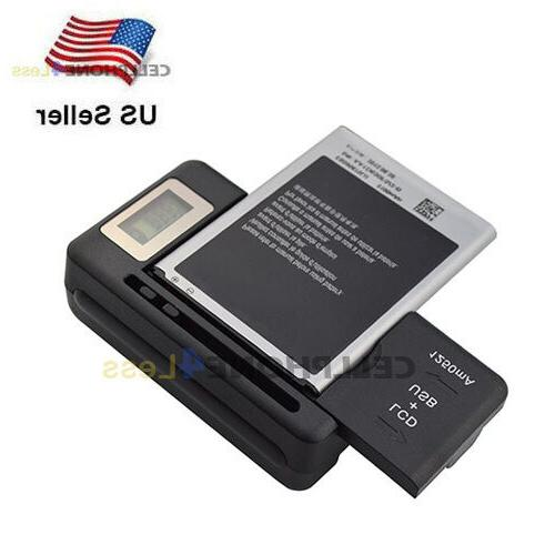 mobile battery charger lcd indicator screen