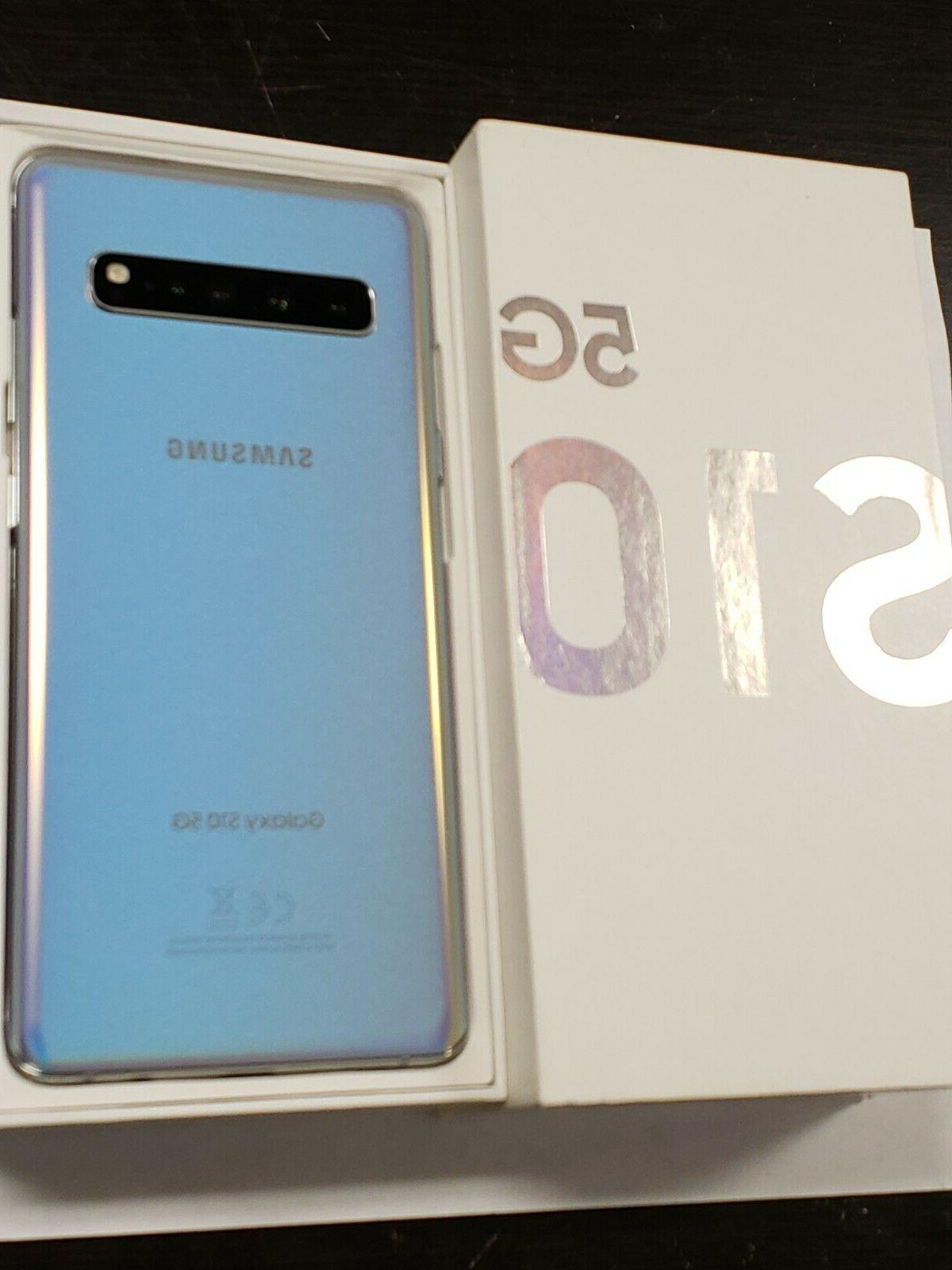 NEW Samsung 5G Crown Silver AT&T GSM