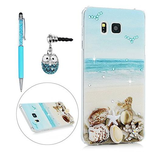 note 5 case colorful painting