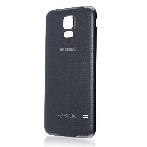OEM Galaxy SM-G900 Battery Door Cover Replacement - Black