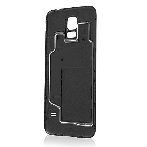OEM Galaxy S5 SM-G900 Battery Door Back Cover Charcoal Black