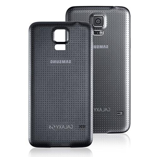 OEM Samsung Galaxy SM-G900 Cover Replacement Black