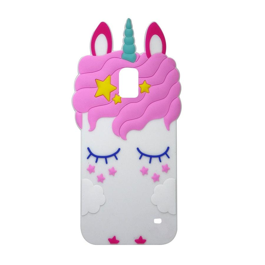 Phone <font><b>Galaxy</b></font> i9600 3D Cartoon unicorn Cover For <font><b>Case</b></font>