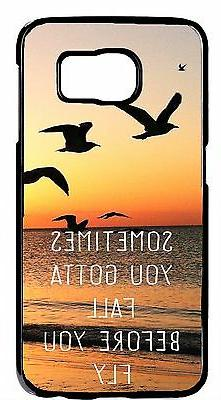 S6 Edge s5 s4 s3 Note 2/3/4 Case Cover Inspirational Quote S