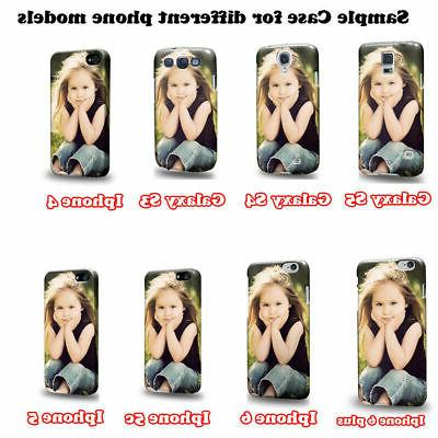 Customized 3D Custom Personalized Photo DIY Phone Case Cover