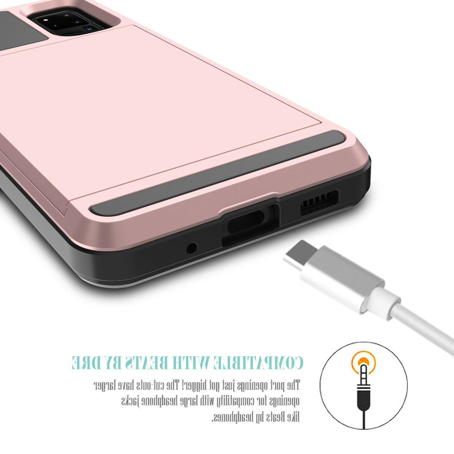 For Samsung Ultra Case With Card Holder