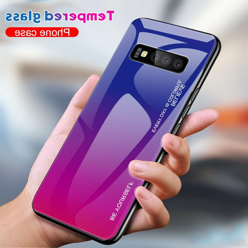 For Samsung 5G Note10 S9 S8 Plus Gradient Hybrid
