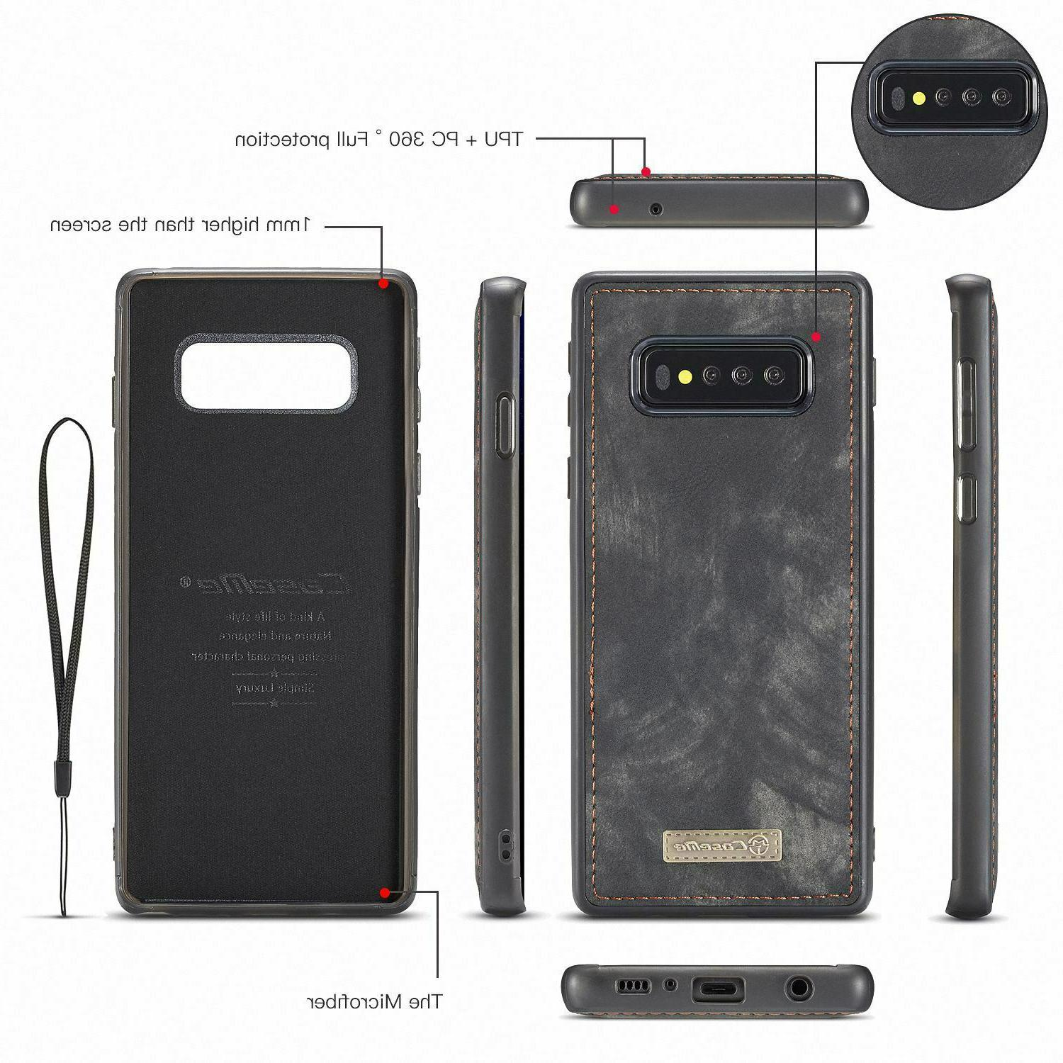 5G Magnetic Leather Case Cover