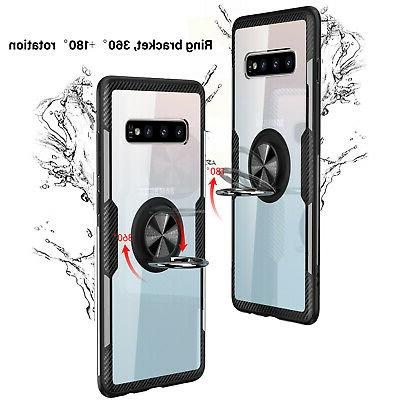 For Galaxy S10 Plus S10 Case Slim Holder Stand