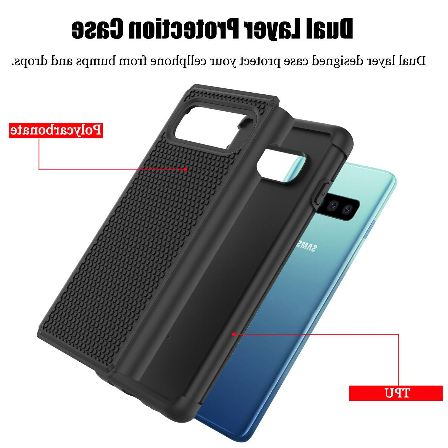 For Galaxy Plus/S10e/S10 5G/S9/Note Hybrid Armor Phone Cover