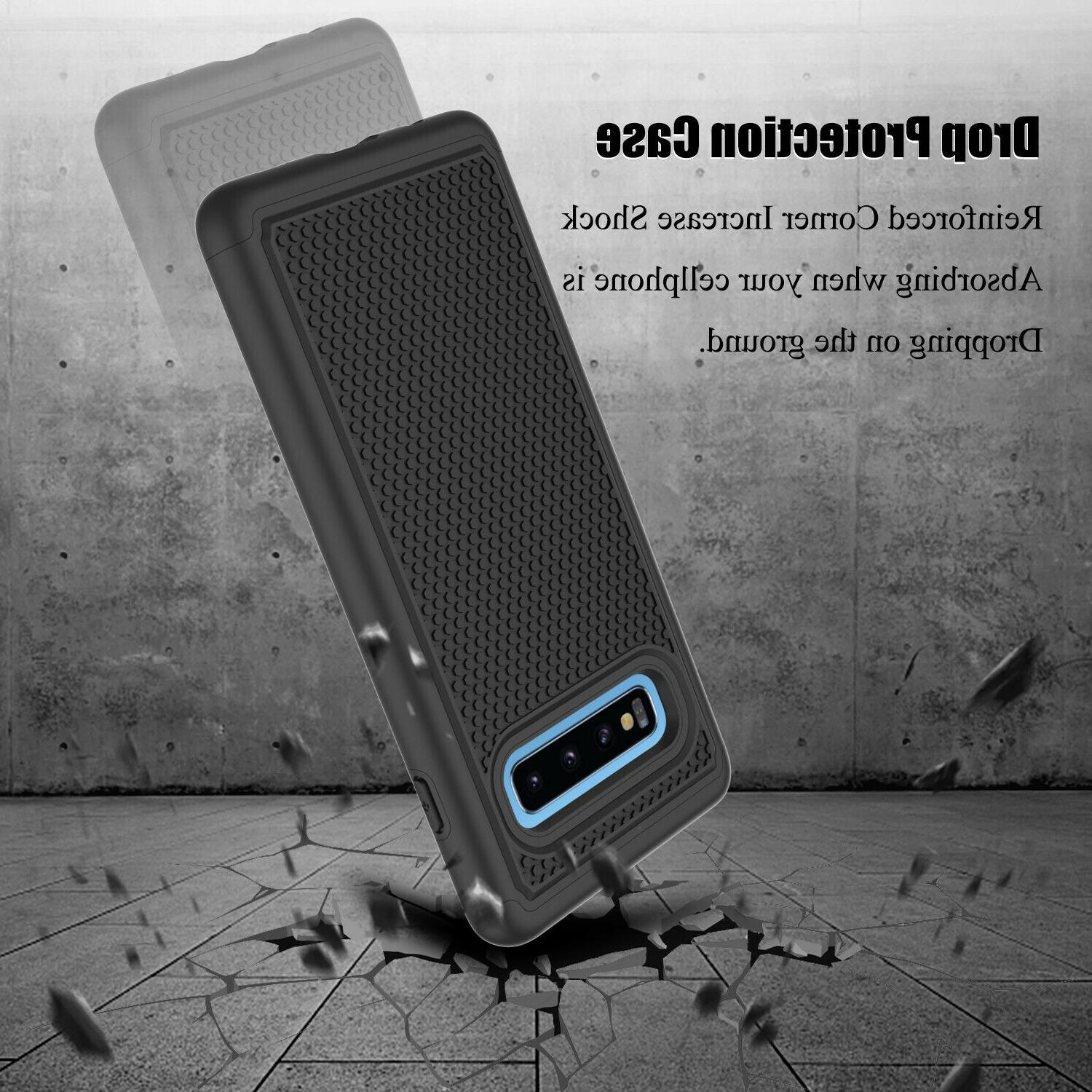 For Samsung Plus/S10e/S10 5G/S9/Note Case Hybrid Phone