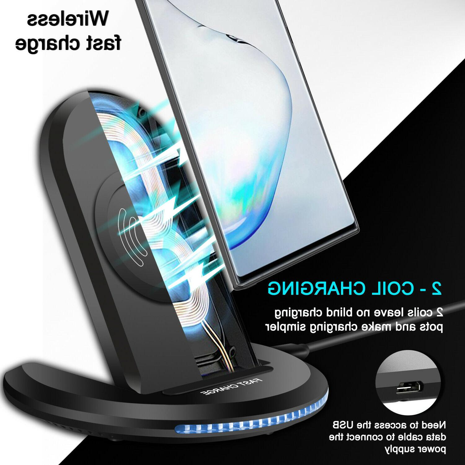 For iPhone 11 Galaxy Qi Charging