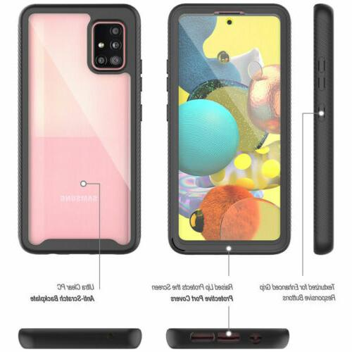 For Samsung Galaxy FE 5G Full-Body Clear Case With Screen Protector