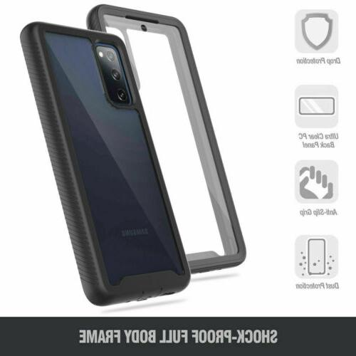 For Samsung Galaxy S20 FE Full-Body Clear With Screen Protector
