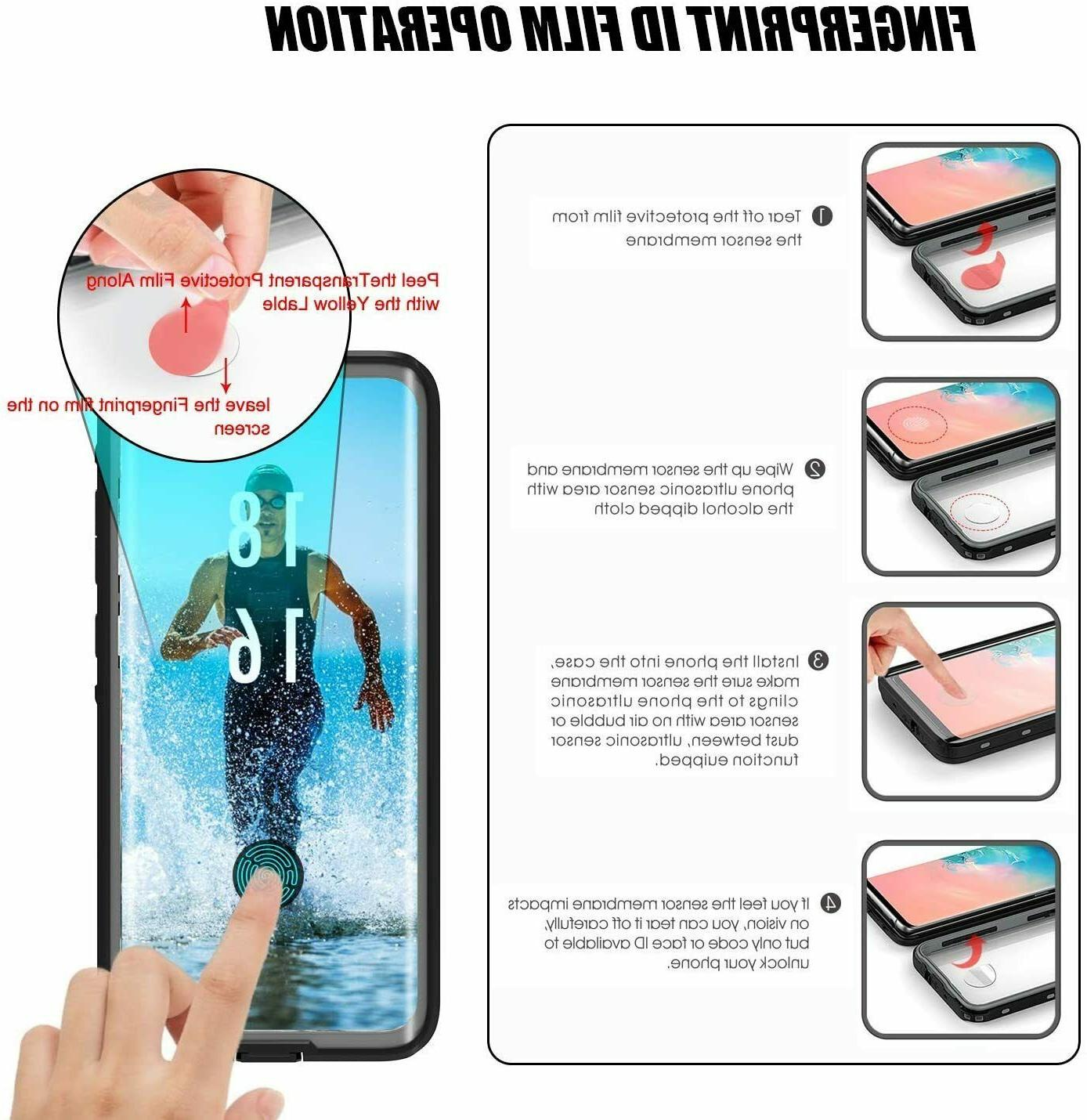 For Samsung Plus Ultra Waterproof with Protector