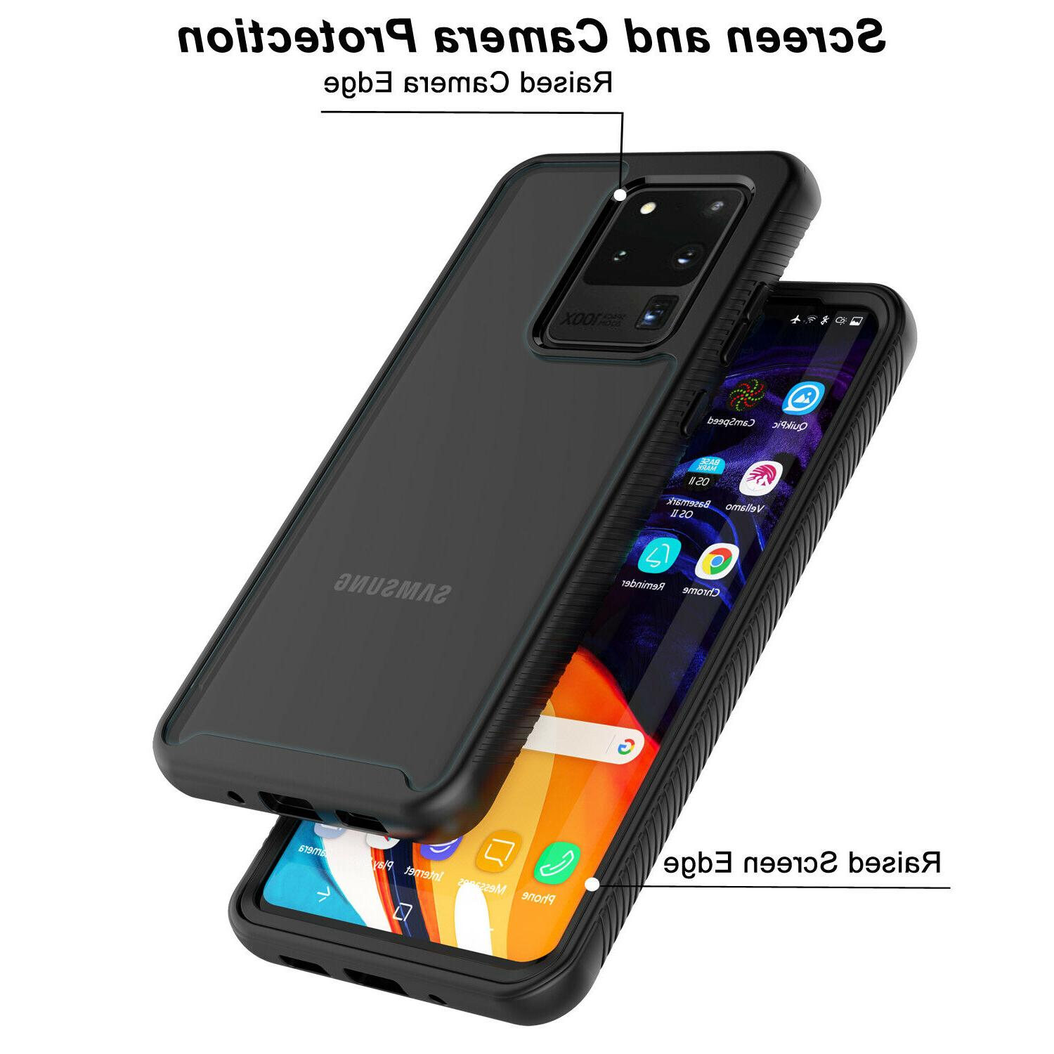 For Ultra 5G Clear Case Full Cover Screen Protector