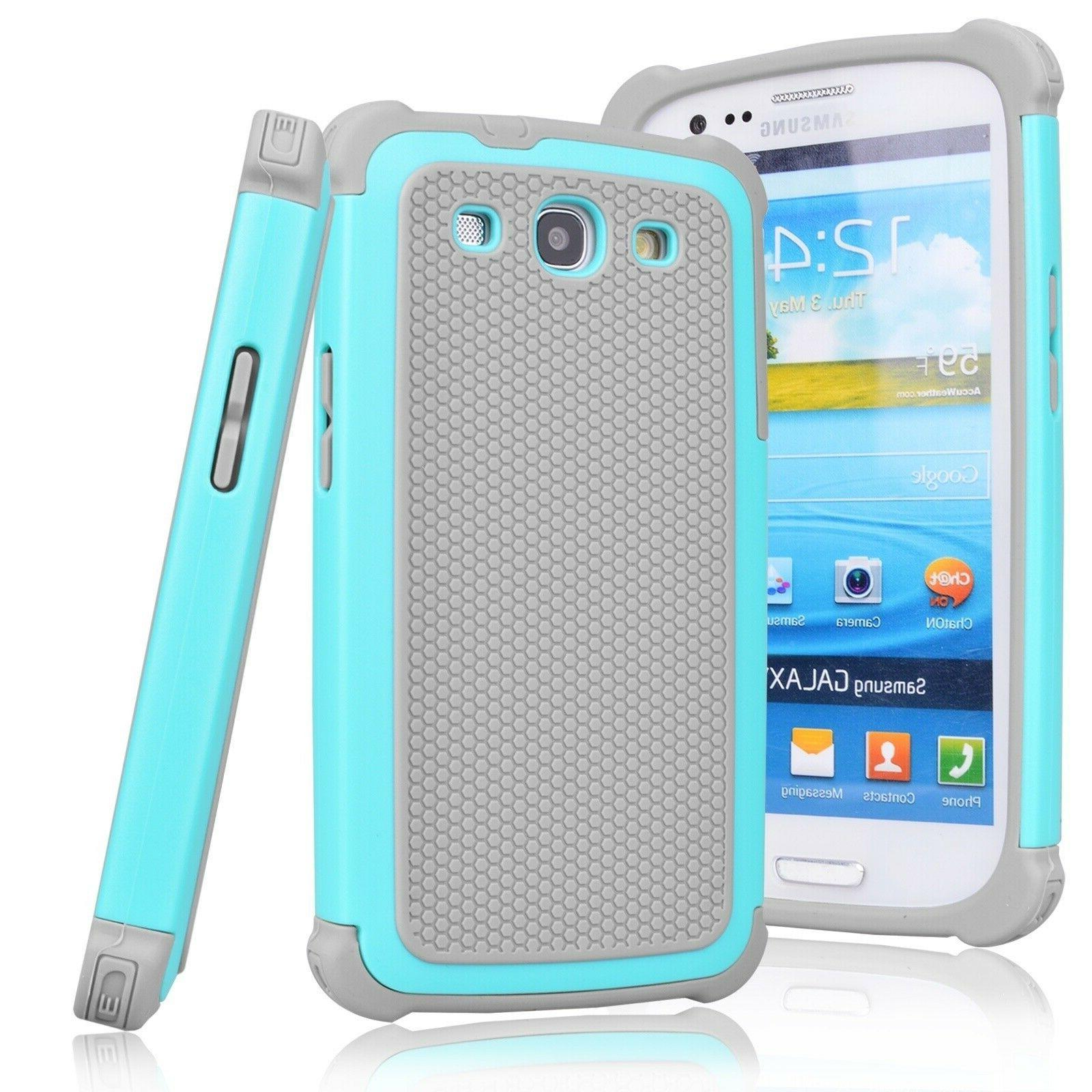 For Samsung S5 Armor Slim Shockproof Hybrid Rugged Hard PC Case Cover