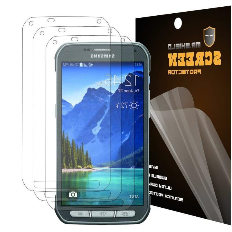Mr Shield Galaxy Active Premium Clear Screen [3-