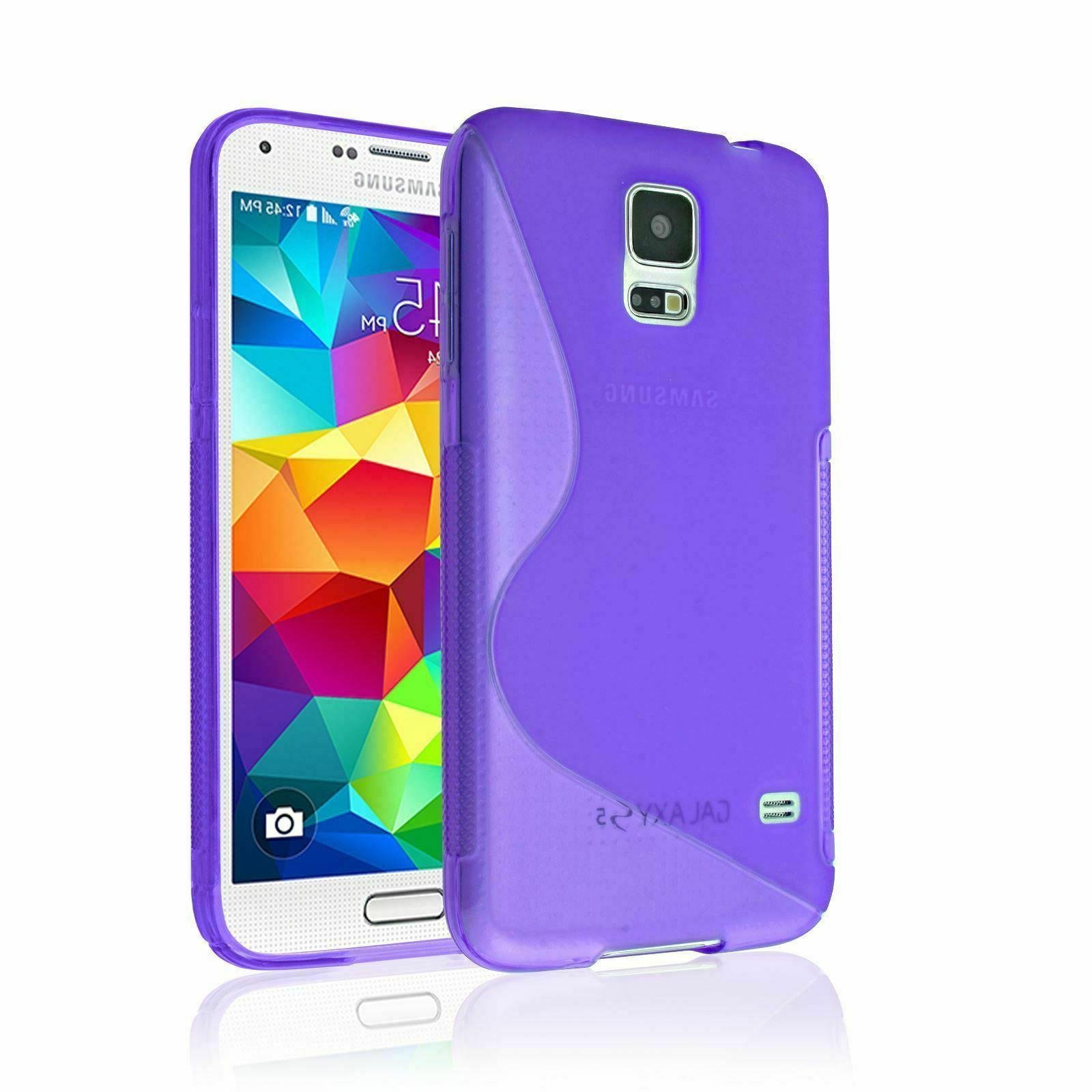 SAMSUNG S-LINE RUBBER BACK PROTECTOR