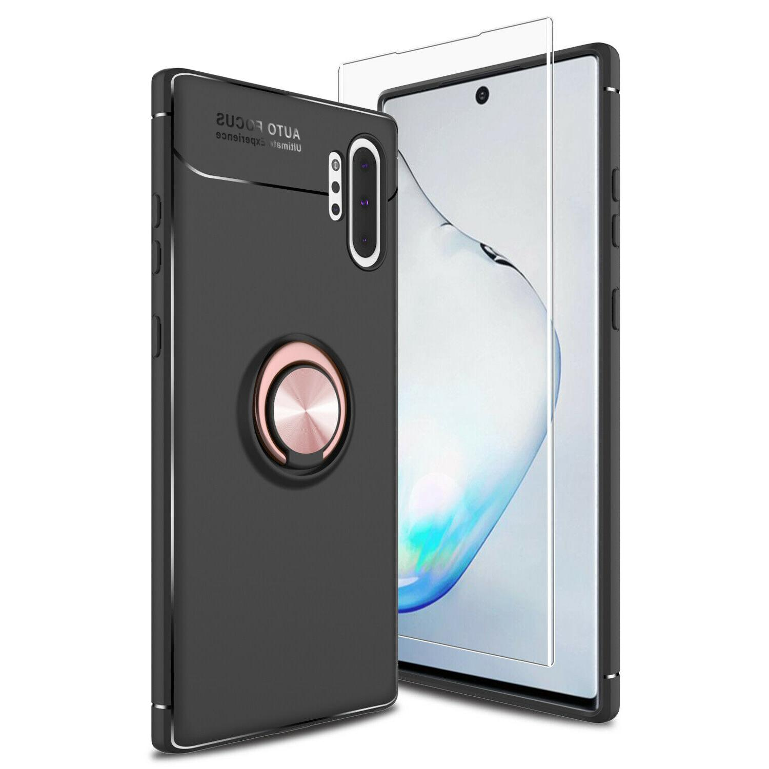 For Galaxy S9/Note 9/10+/S10 Plus Ring Holder+Screen