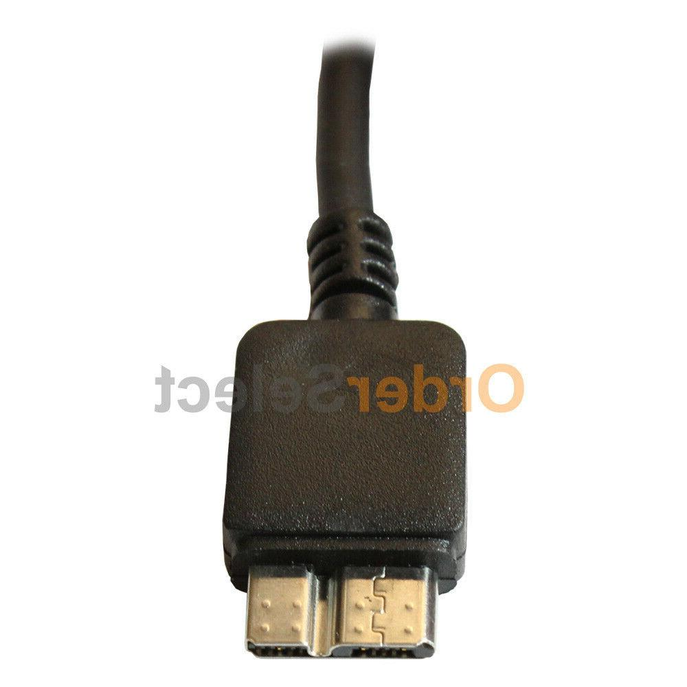 USB 3.0 Charging Cord Cable Samsung Galaxy S5 3
