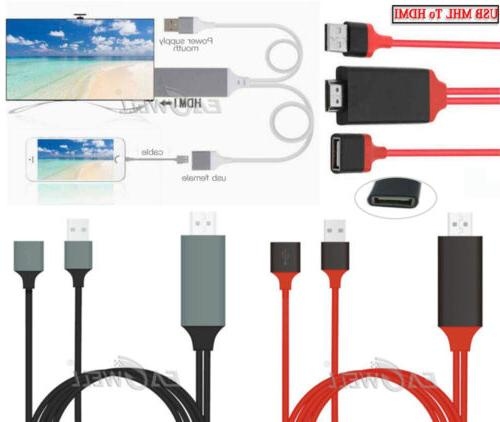 usb mhl to hdmi 1080p tv adapter