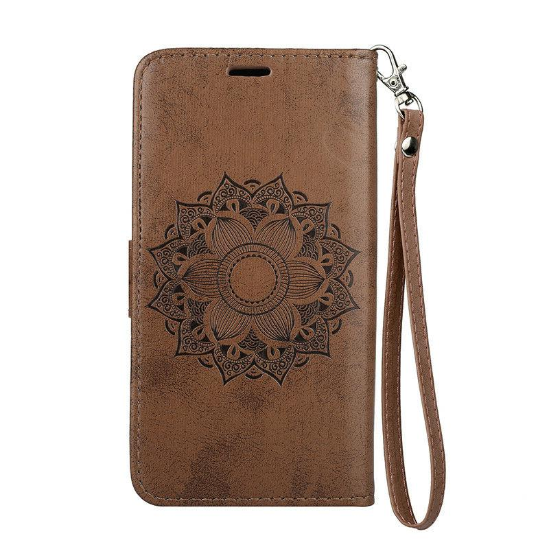 Wallet Flip Leather Case Cover For Galaxy S10 A5 J3 J5 2017