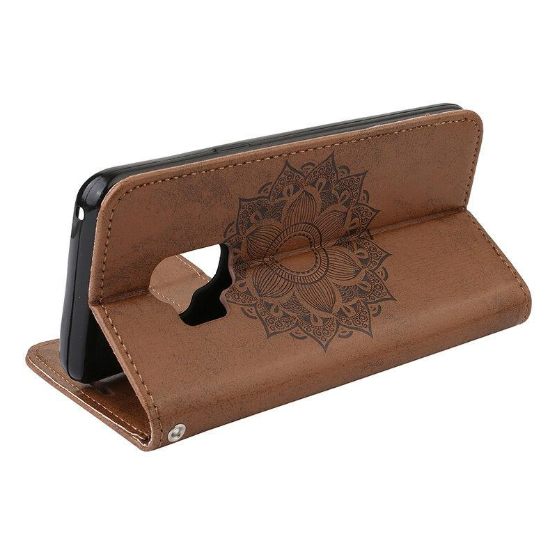 Wallet Leather Phone Case Cover For Galaxy S10 A5 J3