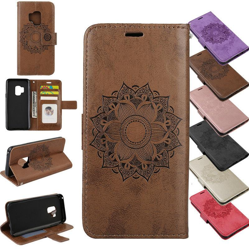 wallet flip leather phone case cover