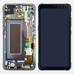 LCD Screen Digitizer Replace Part +Home Button For Samsung G