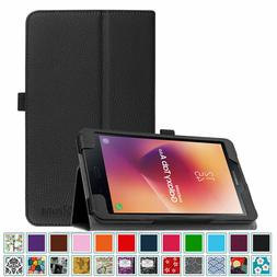 """Leather Case Cover For Samsung Galaxy Tab E A 8.0""""/10.1""""/10."""