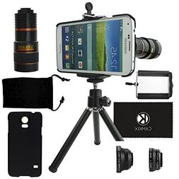 CamKix Camera Lens Kit for Samsung Galaxy S5 including 8x Te