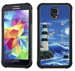Lighthouse at Night - Maximum Protection Case / Cover with C