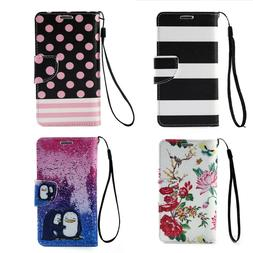 Magnetic Flip Cover Stand Wallet Pu Leather Case For Samsung
