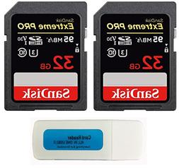 SanDisk 32GB  Extreme Pro Memory Card works with Nikon D3400
