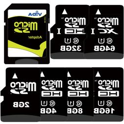 Micro SD SDHC SDXC Memory Card with SD Adapter For Samsung C