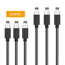 Gopala Micro USB Cable Android Charger  Nylon Braided Fast S
