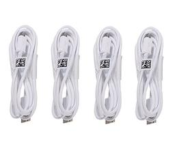 Samsung Micro USB Charging Data Cable for Galaxy Tab, 4 Pack